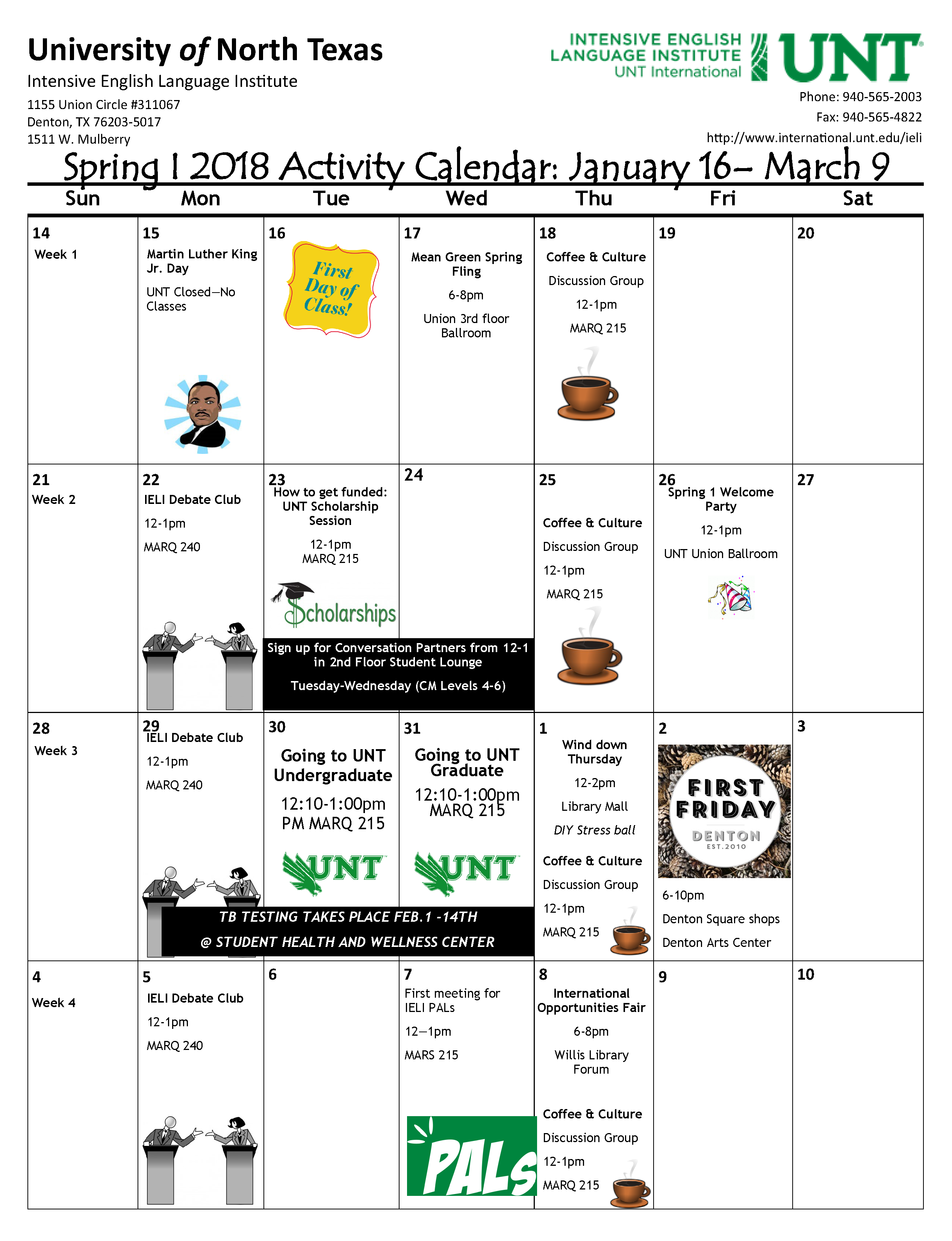 Ieli Calendars Resources For Language Mastery